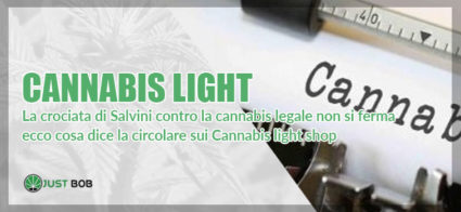 la circolare del viminale sulla cannabis nel 2019
