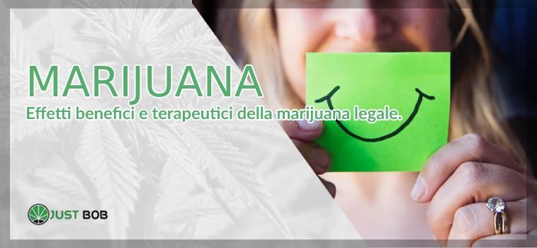 marijuana effetti benefici