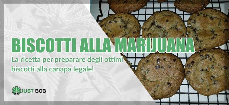 biscotti alla marijuana