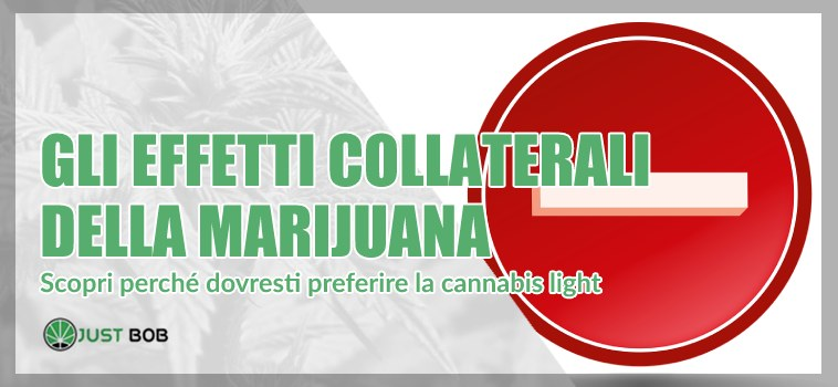 effetti collaterali marijuana