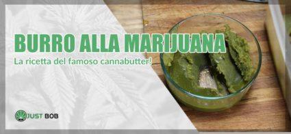 burro alla marijuana