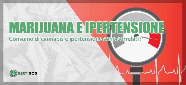 marijuana e ipertensione