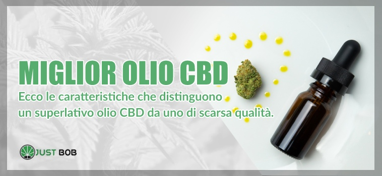 miglior olio cbd