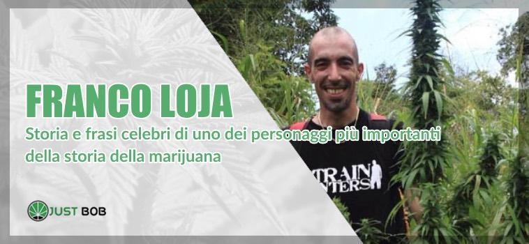 Franco Loja frasi celebri e storia