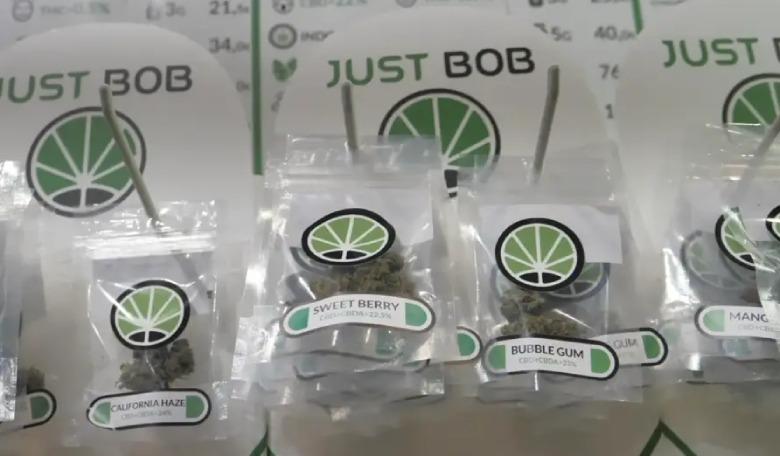 quanto costa marijuana light su justbob shop