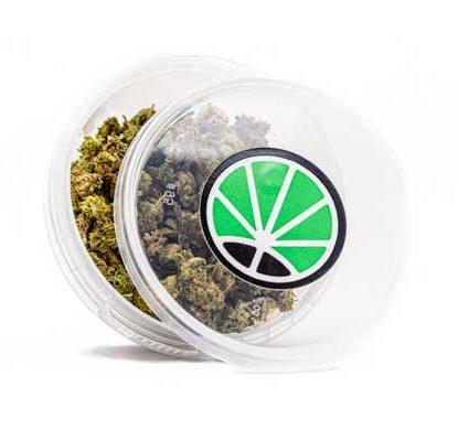 Confezione con cime di small buds mix marijuana legale
