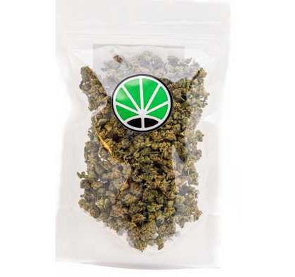 Packaging con fiori di small buds mix canapa light