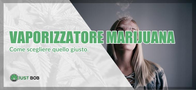 Vaporizzatore marijuana light