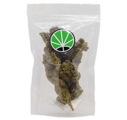 sacchetto con fiori di bubblegum marijuana light