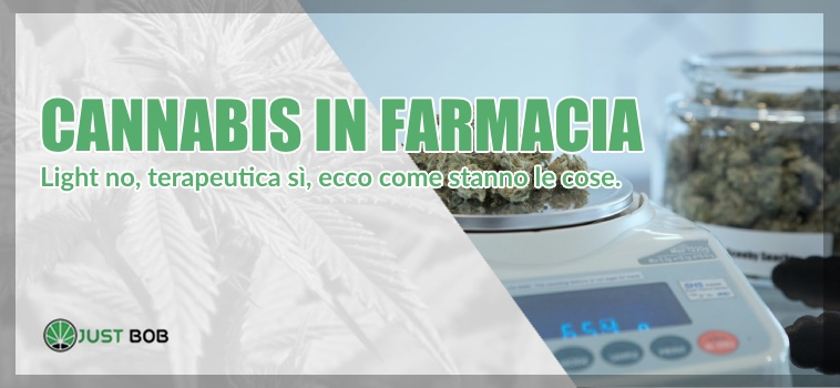 cannabis in farmacia in italia