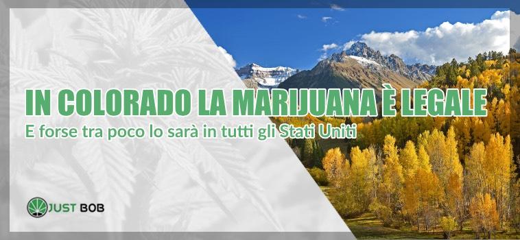 marijuana legale in Colorado