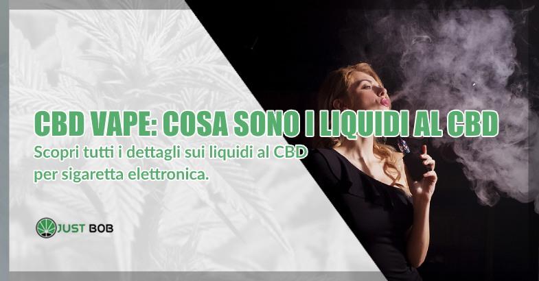 cbd di marijuana legale e sigaretta elettronica