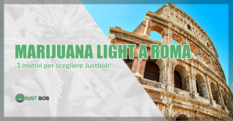 marijuana light a roma