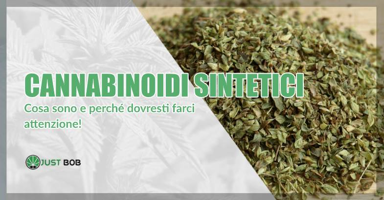 Cannabinoidi sintetici e cannabis light