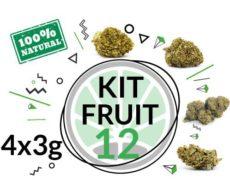 Kit di prova 4 varietà di cannabis legale 12 grammi