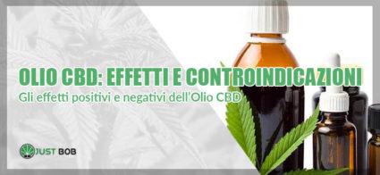 olio cbd effetti e controindicazioni