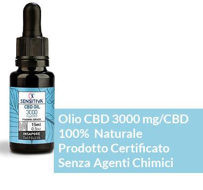 Descrizione Olio di CBD da 15 ml al 20% di CBD