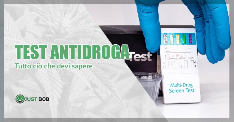 test antidroga per cannabis