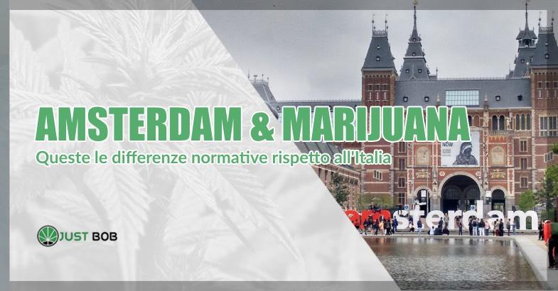 Amsterdam marijuana legale