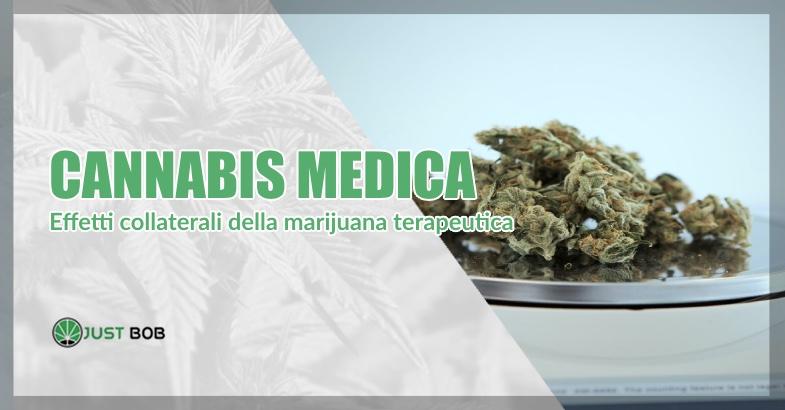cannabis medica effetti collaterali