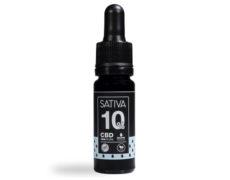 Flacone Olio di CBD da 10 ml al 10% - Sativa