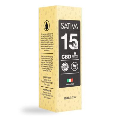 Sativa Olio Cbd 15 Confezione