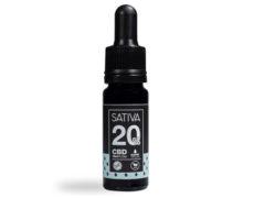 Flacone Olio di CBD da 10 ml al 20% - Sativa