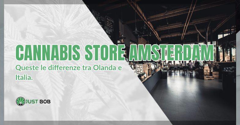 Cannabis Store Amsterdam marijuana legale