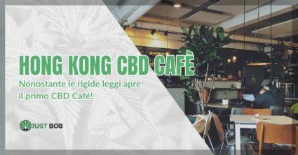 Cannabis light ad Hong Kong