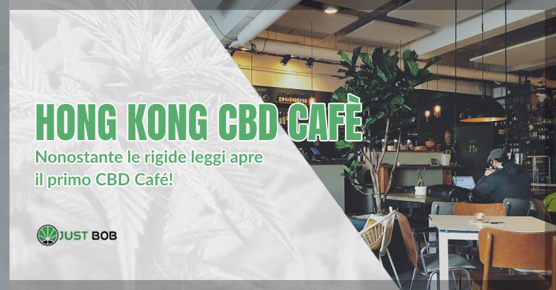 Cannabis light ad Hong Kong