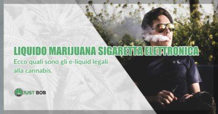 Liquido marijuana sigaretta elettronica