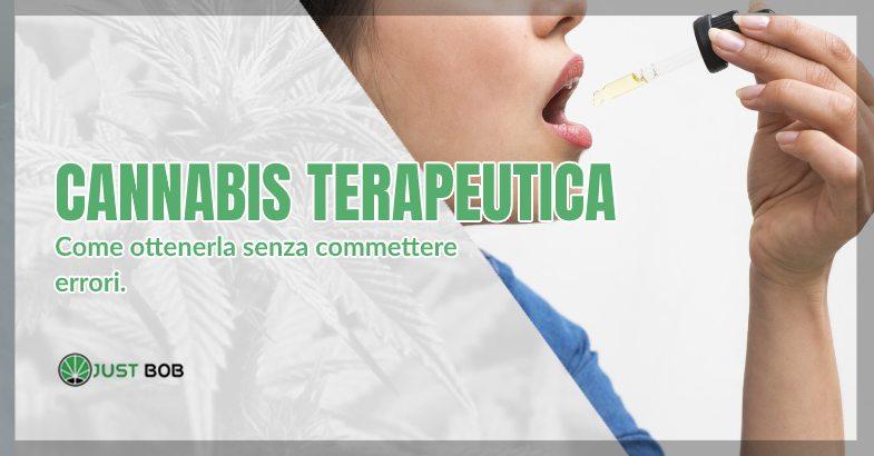 cannabis terapeutica come ottenerla