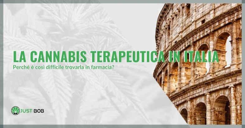 La cannabis terapeutica in Italia: perché è così difficile trovarla in farmacia?