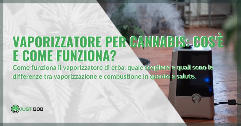 vaporizzatore per cannabis cos'è