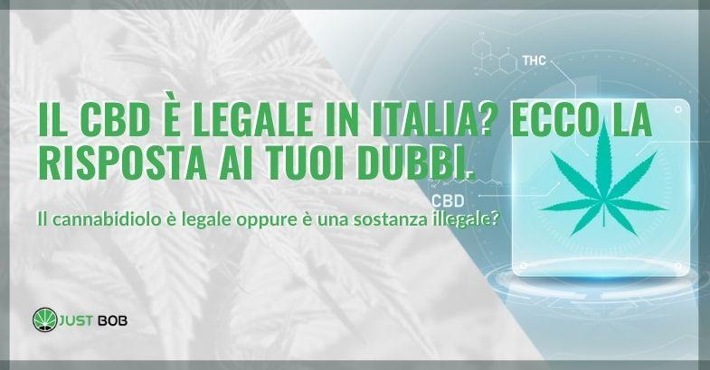 il cbd è legale in italia