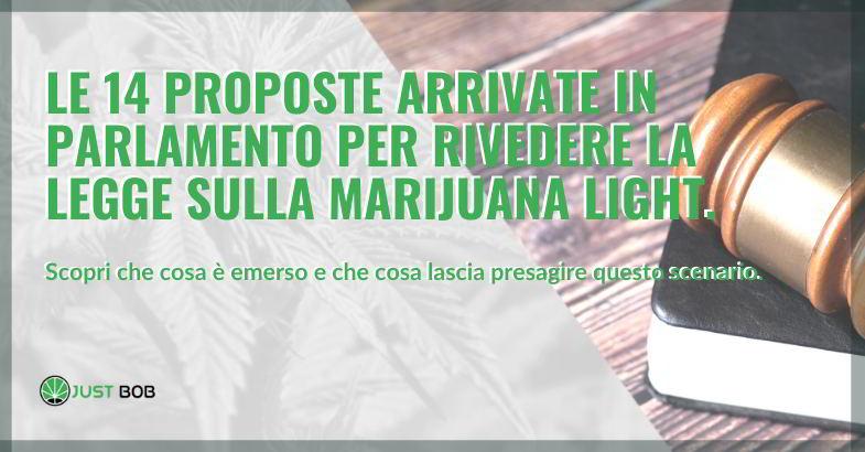 Legge marijuana light.