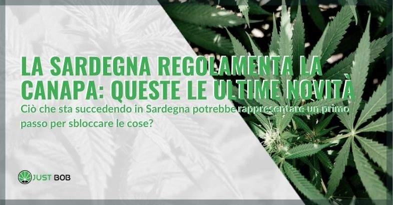 Le novità sulle regolamentazioni della canapa in Sardegna