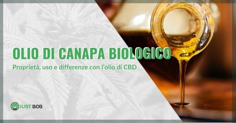 approfondimento sull'olio di canapa biologico