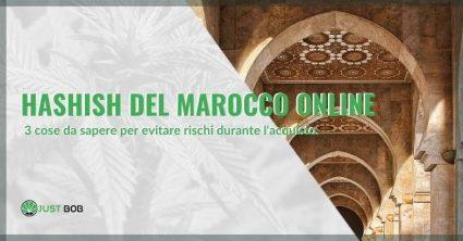 hashish del Marocco