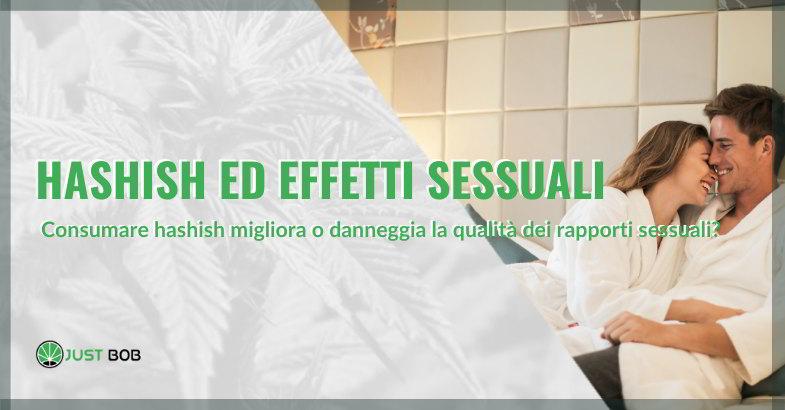 cannabis ed effetti sessuali