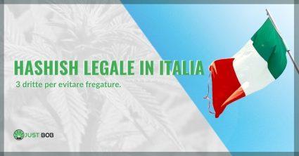hashish legale in Italia