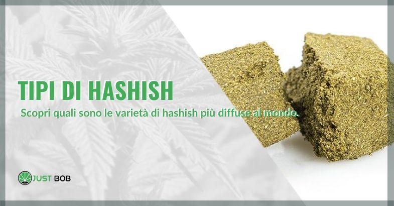 tipi di hashish