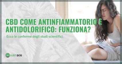 cbd come antinfiammatorio
